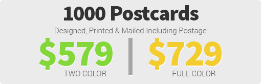 6x11 Postcard Pricing Targeted