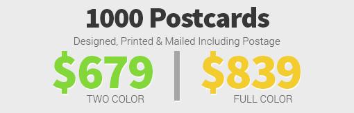 8.5x11 Postcard Targeted