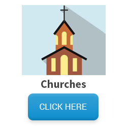 Image of church with click here button