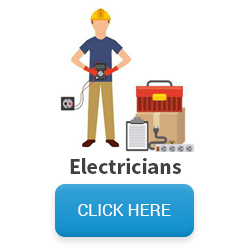 Image of electrician with equipment