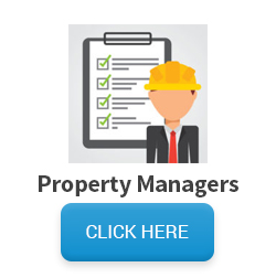 Image of property manager with check list