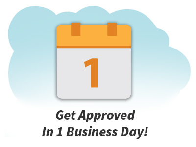 Image of flip calendar showing 1 day