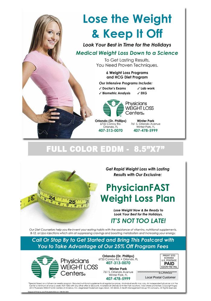 weight loss sample