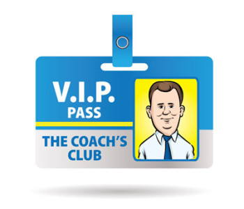 image of vip pass illustrating that members get unadvertised specials on direct mail, printing and mailing lists