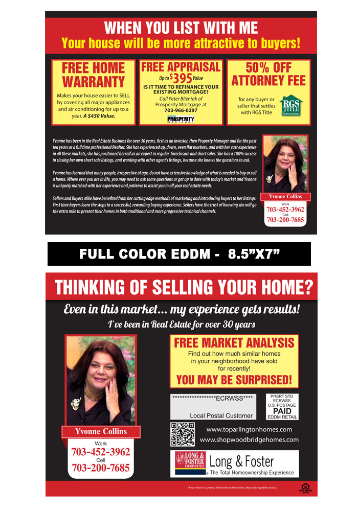 Realtor Postcard Samples Print Label And Mail