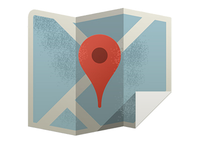 Map image with point in middle to demonstrate how easy it is to refine potential prospects.