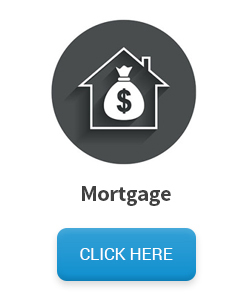 Mortgage mailing list - Money bag inside home icon