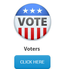 Voters mailing list - political campaign button