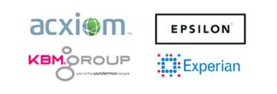 our mailing list compileres axciom, experian, kbm, epsilon