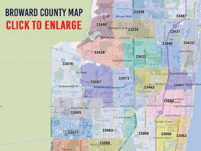 Zip Codes South Florida Map.Best Broward County Zip Code Map Printlabelandmail Com