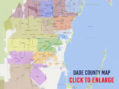 Miami-Dade County Zip Code Map - Print Label and Mail on reston carrier route map, postal code map, zip code radius spreadsheet, post office carrier route map, san juan islands map, usps route map,